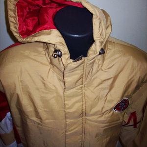 SAN FRANCISCO 49ERS Starter KNOCKOUT Hooded Jacket